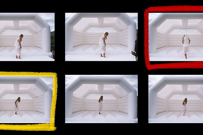 Contact Sheet: Space Odyssey Bride