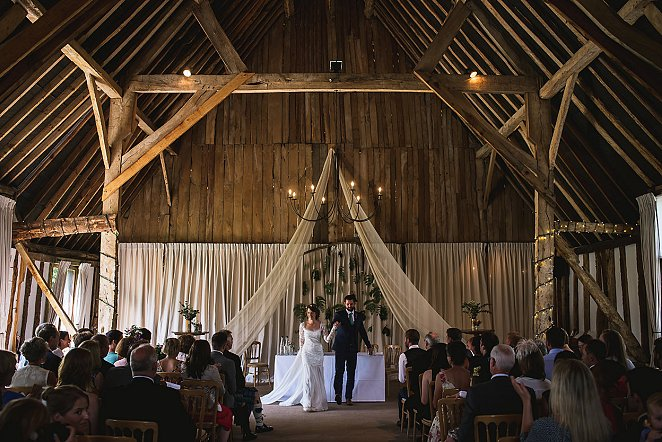 Clock Barn Wedding